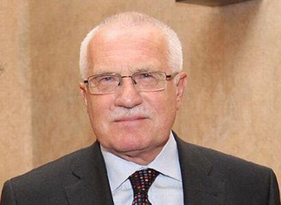 Prezident Klaus: Pracujeme dostatečně? Máme nárok na euro?