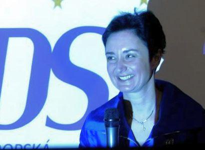 ODS hrozí krach jako pravici ve Slovinsku, varuje Hybášková