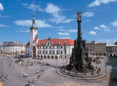 Olomouc: Mikulášský ohňostroj přilákal stovky lidí