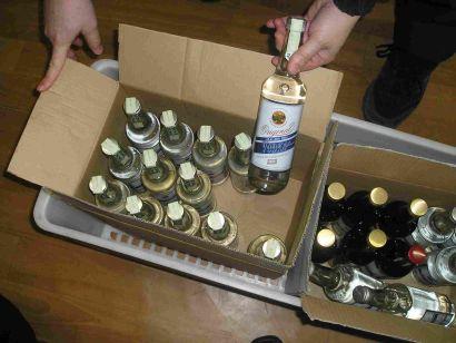 Do pančovaného alkoholu lijí savo