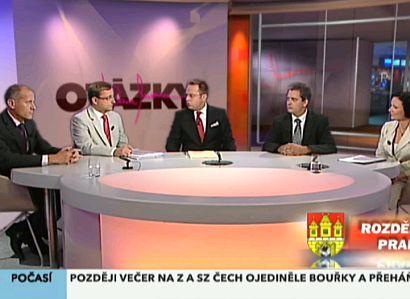 ODS v Praze: Masivní ztráta, přesto vede před TOP 09
