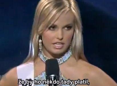 Miss USA v podání Víta Bárty? Sledujte pozorně