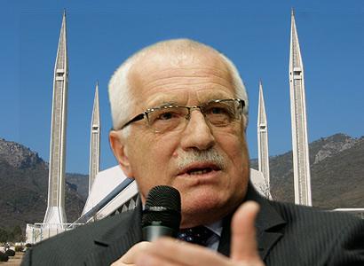 Tabu padá. Prezident Klaus v odporu proti mešitám není sám