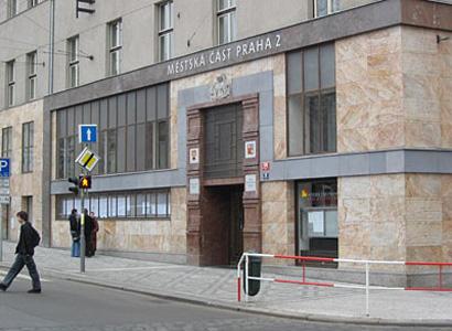 Zlatý erb pro webové stránky MČ Praha 2