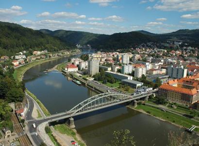 Děčín: Město provádí jarní čištění ulic
