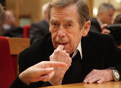 Havel popřál Čechům více klidu