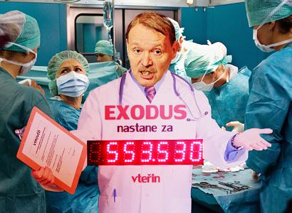 Exodus lékařů pokračuje: Odbory vyhlásily druhou vlnu a založí konto