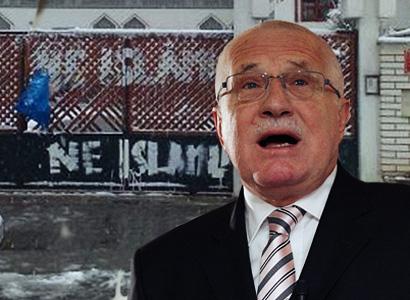 Mešity odmítá Klaus i většina Čechů. Muslimové zuří