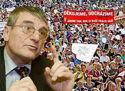 Gigantická stávka: V létě zkolabuje země, nepojede MHD, vlaky, nic
