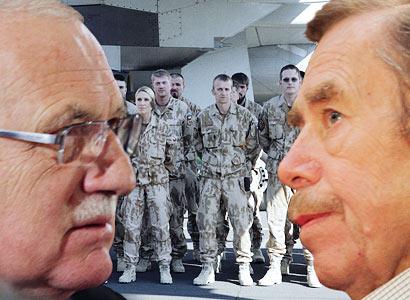 Poslanci: Intervence v Libyi? Další chyba humanitárního bombardéra Havla