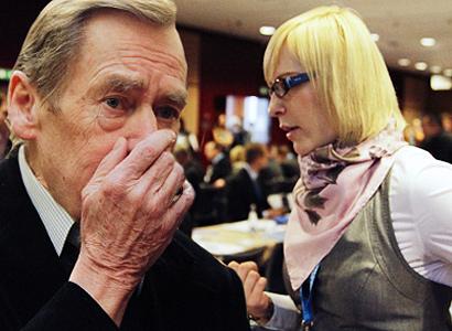 Neuvěřitelně šokovaný Václav Havel. Dílo Kristýny Kočí
