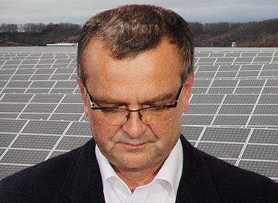 Fotovoltaici děsí Kalouska. Bude to hodně drahé a vy jste to věděl