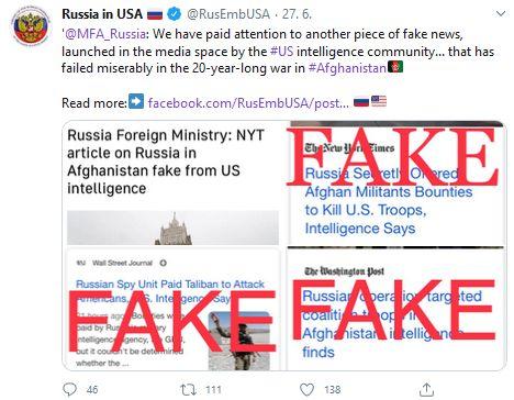 Velvyslanectví Ruské federace v USA