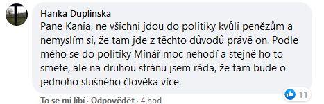 Spor o Mináře v politice