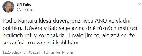 Vláda Andreje Babiše čelí kritice