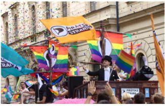 Piráti na Prague Pride