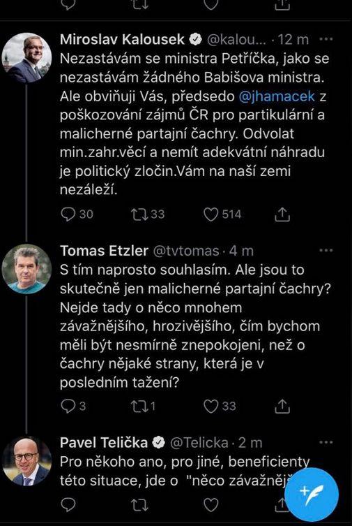 Ministr Zaorálek se zlobí