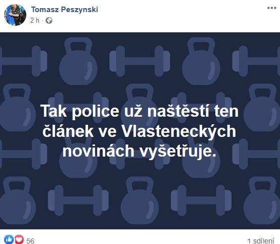 Tomasz Peszynski o policii
