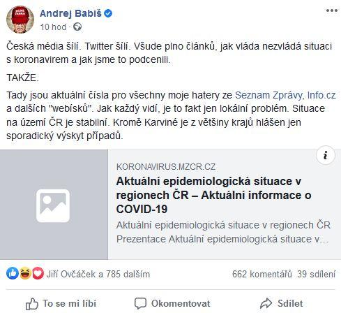 Andrej Babiš promlouvá