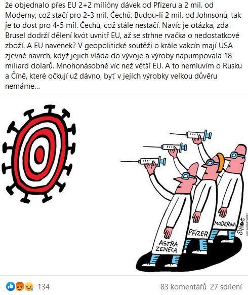 Jak to bude s očkováním v Česku?