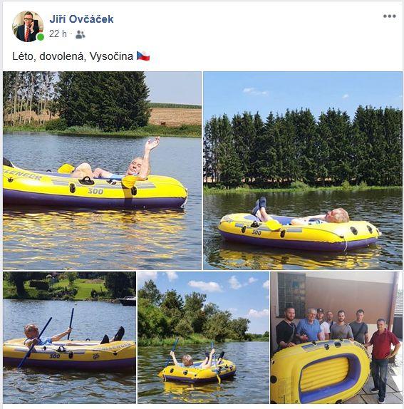 Prezident Zeman na dovolené