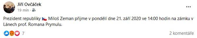 Ministrem zdravotnictví bude Roman Prymula