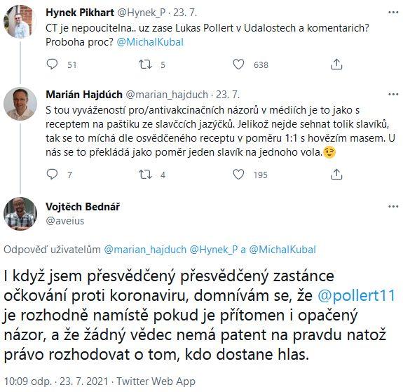 Pollert v ČT