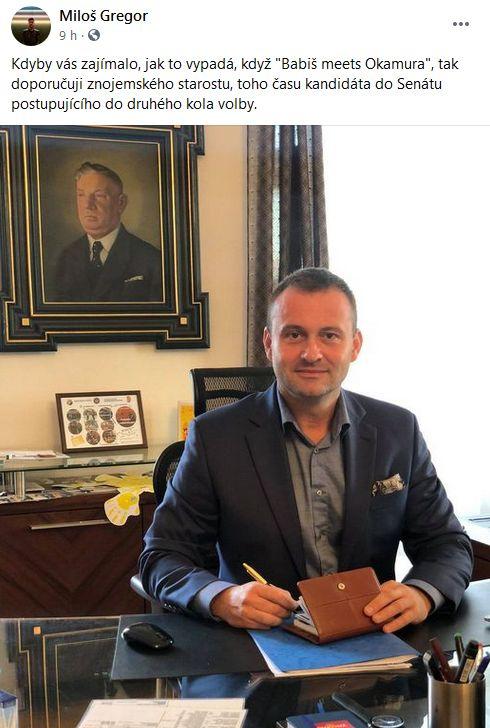 Miloš Gregor reaguje na starostu Groise