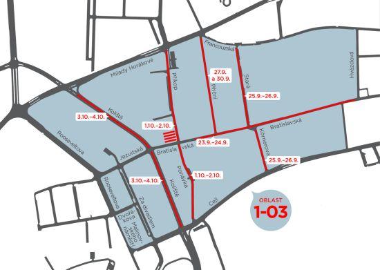 Nové oblasti rezidentního parkování v Brně