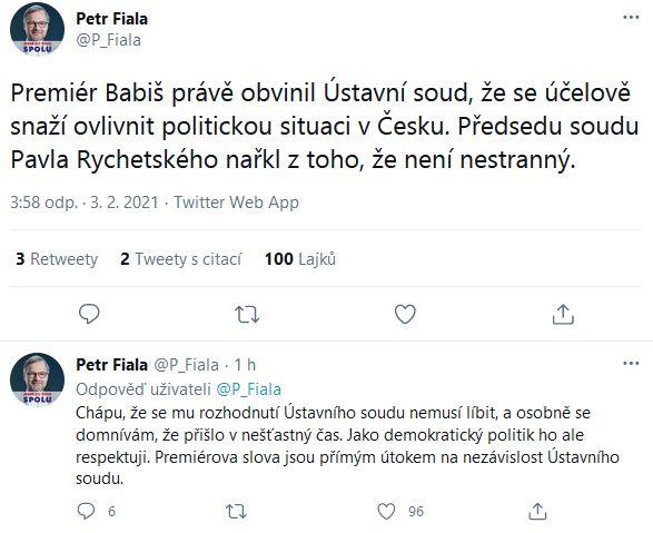 K rozhodnutí Ústavního soudu ČR.