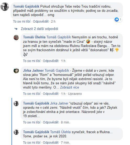 Tomáš Úlehla kritizoval Jana Cinu