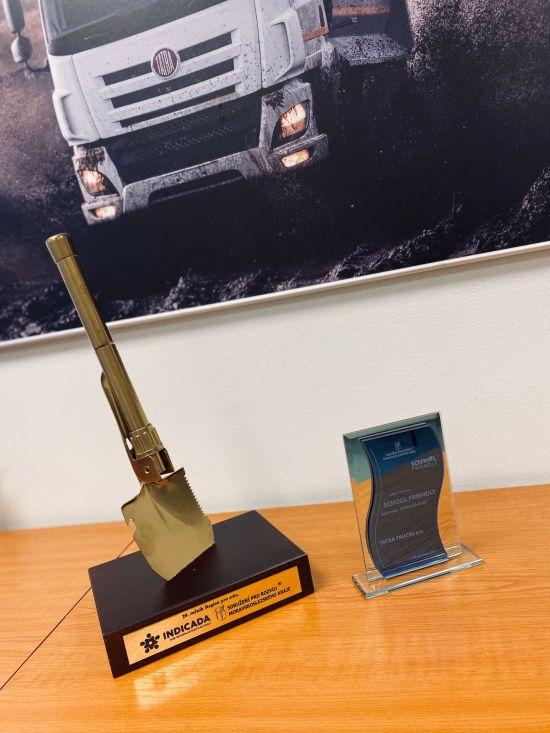 Ocenění School Friendly za projekt Tatra do škol