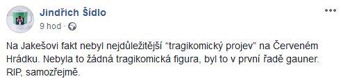 O Miloši Jakešovi