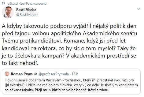 Rostislav Maďar se zlobí