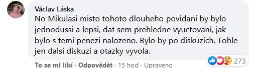 Mikuláš Minář se pustil do křížku s novináři.