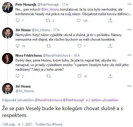Luboš Xaver Veselý čelí kritice