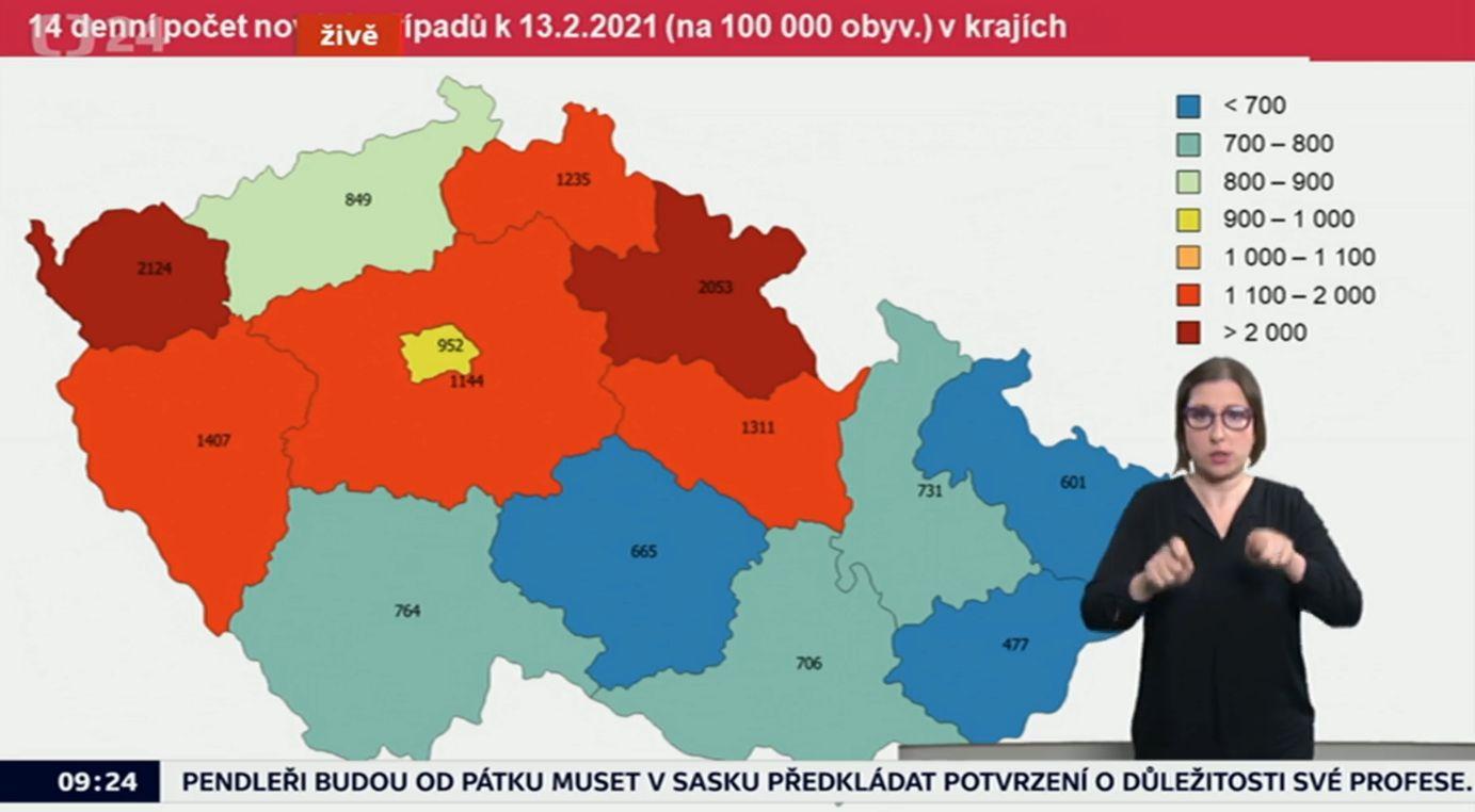Šíření koronaviru v Česku