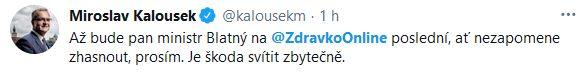 Odchody z Ministerstva zdravotnictví ČR