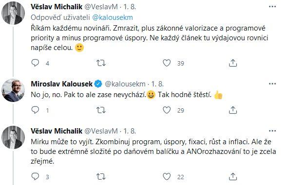 Michalik a Kalousek