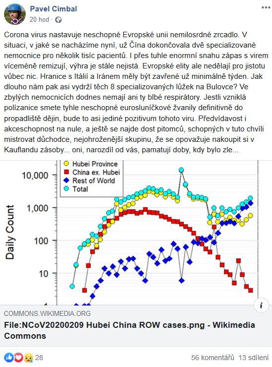 Pavel Cimbal o koronaviru v EU