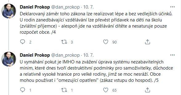 Daniel Prokop promluvil