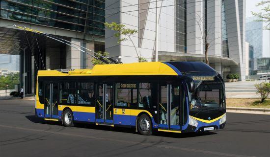 Trolejbus ŠKODA 32Tr