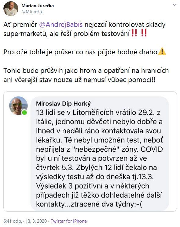 Andrej Babiš čelí kritice
