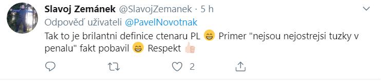 Uživatel Twitteru pobaven definicí čtenářů PL