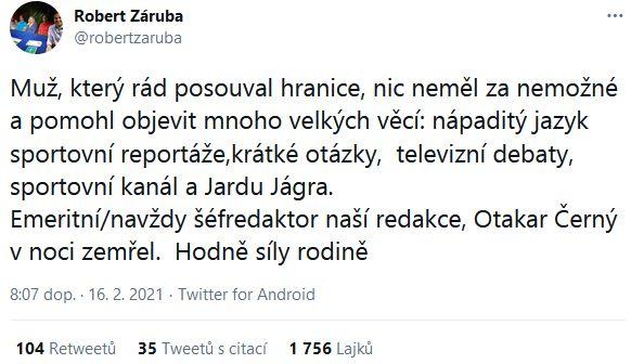 Smutný Robert Záruba