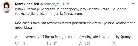 Marek Ženíšek o Rusku