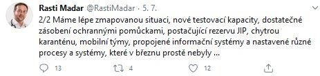 Rostislav Maďar promlouvá