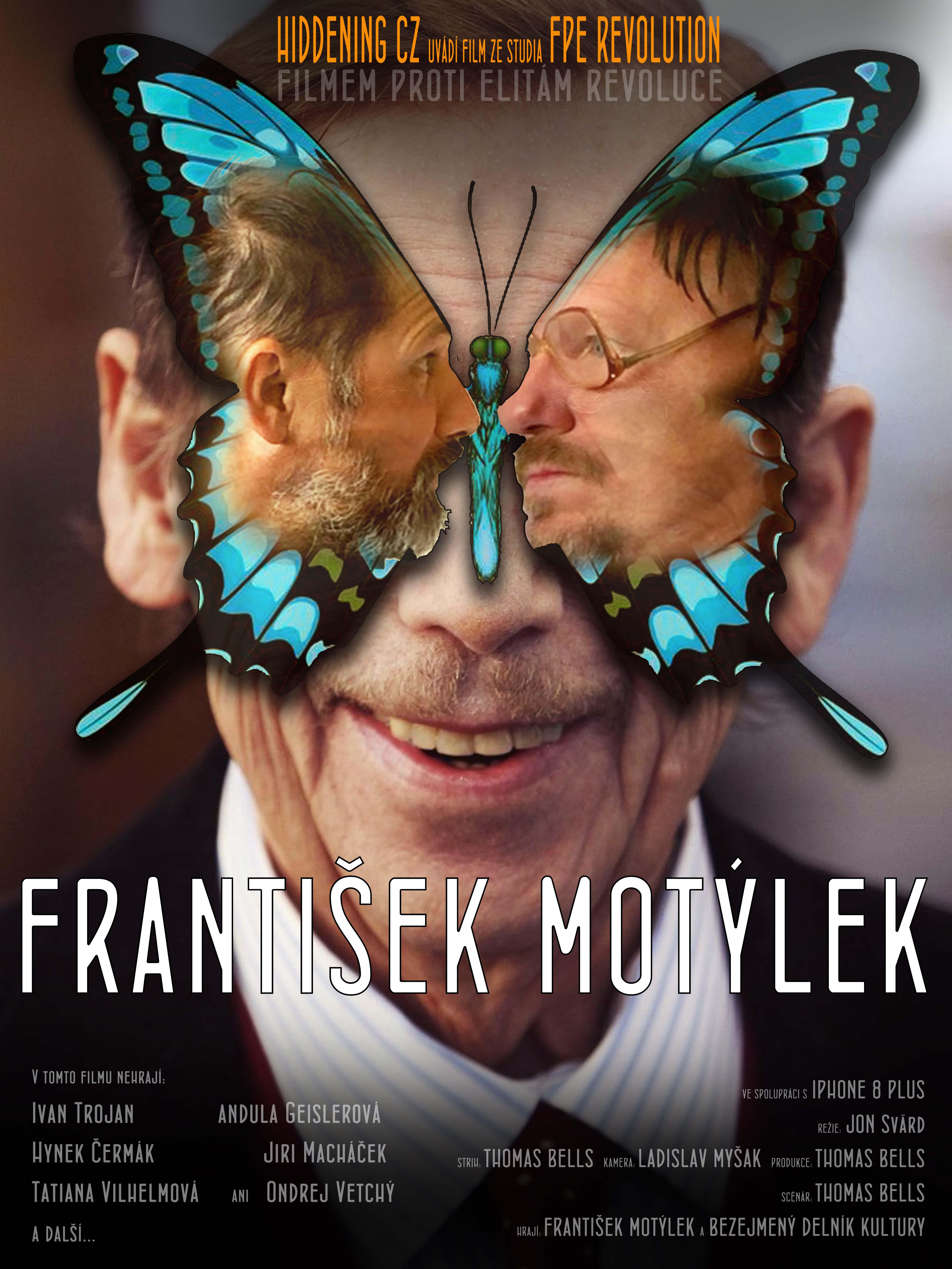 Pozvánka na premiéru filmu František Motýlek