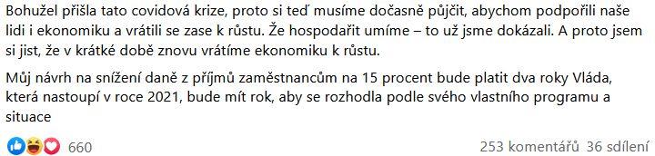 Andrej Babiuš opět udeřil na Miroslava Kalouska
