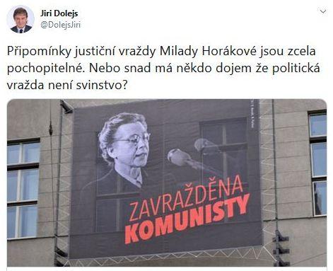 Jiří Dolejš o komunistickém zločinu